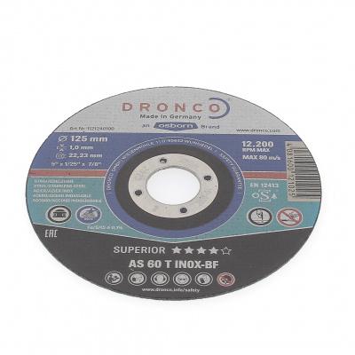 DISQUE A TRONCONNER PLAT 125X1.0X22.2 AS60T INOX 1121-240.100