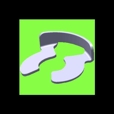 Clip D'Arrêt Pour Axe - C Clip For Grooved Shafts