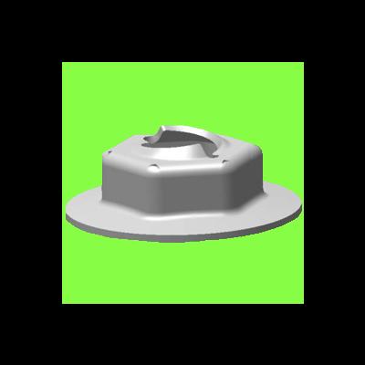 Ecrou Fileteur Pour Tige Lisse - Self-Threading Nut To Screw On Smooth Stem