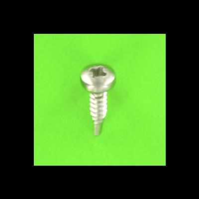 Bohrschrauben mit Zylinderkopf und Phillips-Kreuzschlitz Edelstahl A4 DIN 7504M