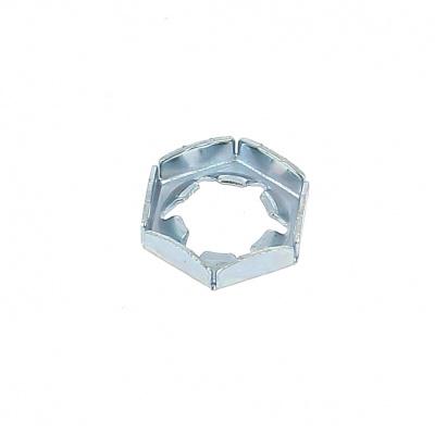 Palmuttern Stahl Weiß verzinkt DIN 7967