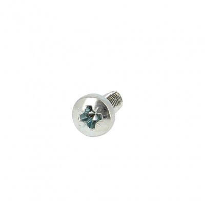 Bohrschrauben mit Linsensenkkopf und Pozidriv-Kreuzschlitz Stahl Weiß verzinkt DIN 7500C