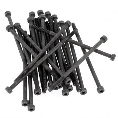 Stahl 12,9 Schwarz