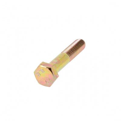 Sechskantschrauben Stahl 8.8 Bichromatiert verzinkt Teilgewinde DIN 931