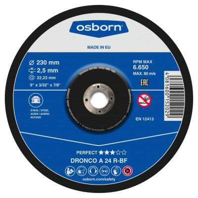 DISQUE A TRONCONNER DEPORTE 230X3.0X22.2 A24R PERFECT 1232-015.100