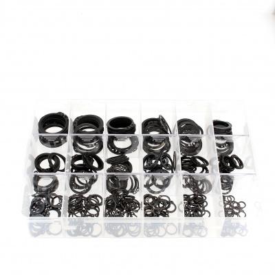 Sortimentbox Außensicherungsringe Stahl Schwarz DIN 471