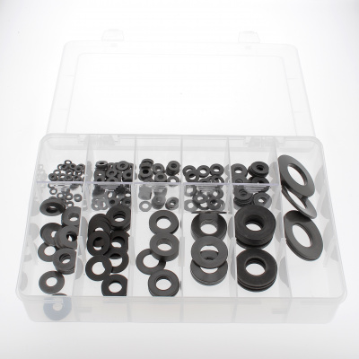 Sortimentbox Tellerscheiben Stahl Schwarz DIN 2093